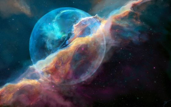 Hubble Bubble by JoeyJazz