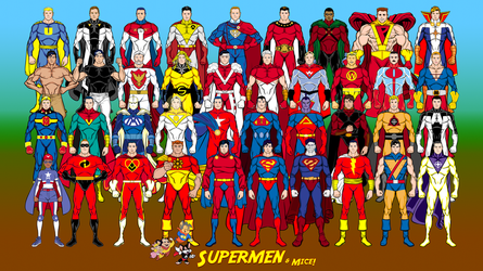 Of Supermen and Mice (updated Superman analogues) by Eldacur