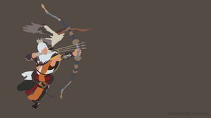 Bayek (Assassin's Creed Origins) | Minimalist by Sephiroth508