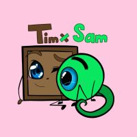 Septiplier: Tim and Sam by Tiny--Box--Tim