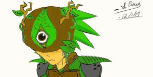 Clicker Heroes - The Great Forest Seer Sketch by MephilesTheDark2182