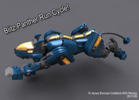 Run Panther, RUN by Stompy1