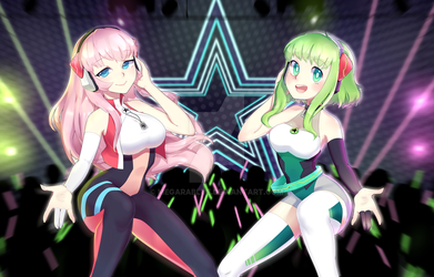 BOOM BOOM In My Heart feat. LUKA and GUMI by MegaraBlue