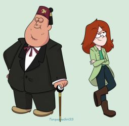 Soos and Wendy 2018 by TurquoiseGirl35