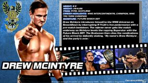 WWE Drew Mcintyre ID Wallpaper Widescreen by Timetravel6000v2