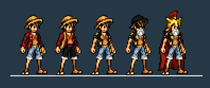 SPD Luffy Alts by DarkPhyrrus