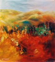 The Burning Hills - Arteet by Arteet