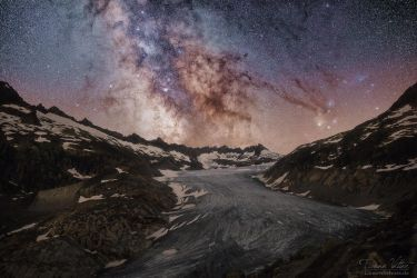 The galactic center by LinsenSchuss