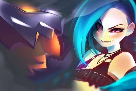 Get Jinxed by neon-drane