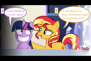 The odd couple by AlberBrony