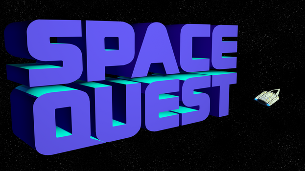 Space Quest 2 1080p (Ship) by MusicallyInspired