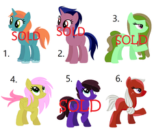 Pony Mare Adopts 2 ::OPEN:: by PaintbrushPonyArtist