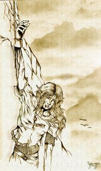 The torment of Maedhros by Mami02