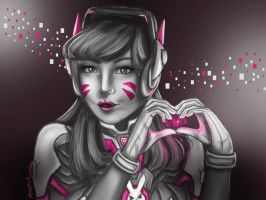 Love, D.Va by Anspire