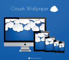 Clouds wallpaper by frenchitouch