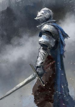 Tournament Knight by conorburkeart