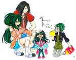 [GIFT]Nnoineil family by kathe-cat