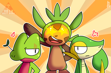 (Collab) Three Alike by TheYoshiState