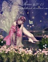Forest Pond Fairy by marphilhearts