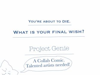 Project Genie. Help Wanted! by Mustardman8
