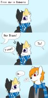 Blaze and Blaze by LanatheButler11