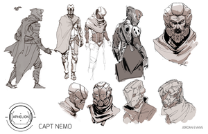 20,000 Leagues under the Sea- Captain Nemo by SavoryBaconist