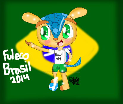 World cup mascots-Fuleco by migetrina4ver2018