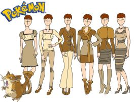 Pokemon fashion: Raticate