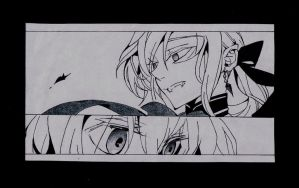 Mika and Ferid by SophieSeraph
