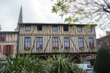 French Medieval Village-3 by RowyeStock