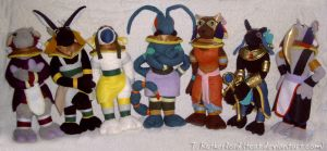 Plush - Seven of the Anarchos by tcat