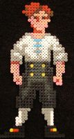 Guybrush Threepwood - Hama by JiFish