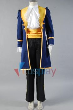 Beauty and the Beast Prince Adam Cosplay Costume by cossteve