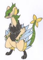 Archeops/Luxray Fusion