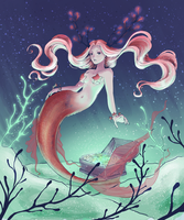 Coloring contest - Mermaid by S-hoom
