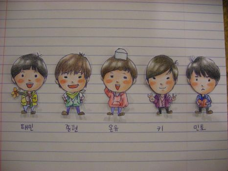 shinee by jieunfin