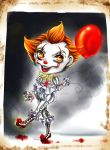 I'm Pennywise the Dancing Clown! Have a balloon! by HatsuneSnow