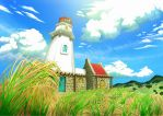 Tayid Lighthouse by Effieeee