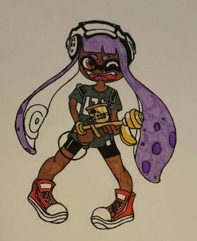 Kid Squid! by InuYoukai-Chan