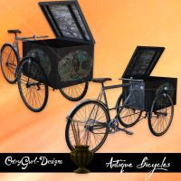 Antique Bicycles by CntryGurl-Designs