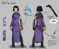 ATRS - Iris Syl character design by Jops556