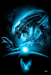 Alien poster without logo by RobertoDS