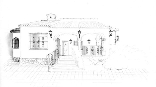 Spanish house 2 by van27