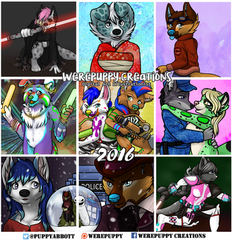 Best of Nine 2016 by Werepuppy