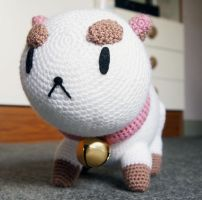 PuppyCat Amigurumi Plush - Wide angle by kaelby