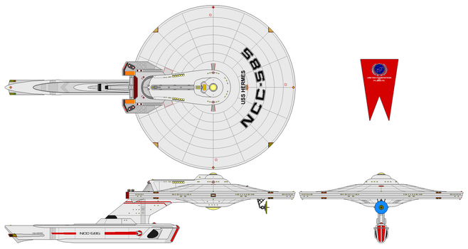 Uss Hermes By Nichodo-mod Larry03052 by larry03052