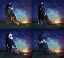 Nightguard YCH - Set 1 by Therbis