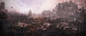 The Slums by Tryingtofly