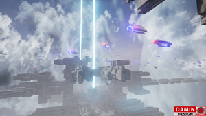 Unreal Engine 4 Sky Space by DaminDesign