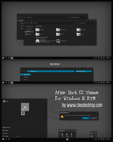 After Dark CC Theme For Windows 10 RTM by Cleodesktop